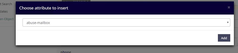 添加abuse-mailbox
